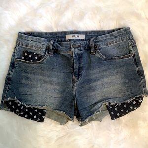 SL8 Peek A Boo Pocket Shorts